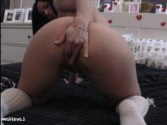 Самотык на присоске норезки порно